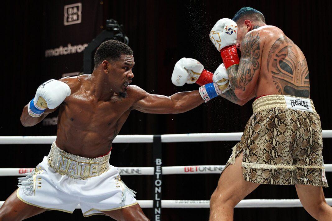 Daniel Jacobs vs Gabriel Rosado (Photo by: DAZN)
