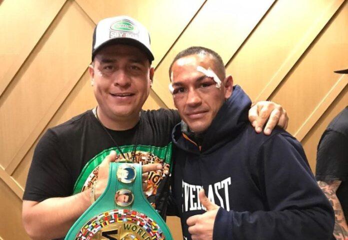 Alfredo Caballero y Juan Francisco Estrada