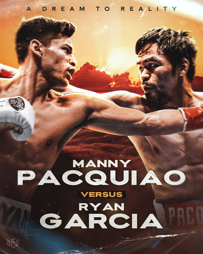 Manny Pacquiao vs Ryan García
