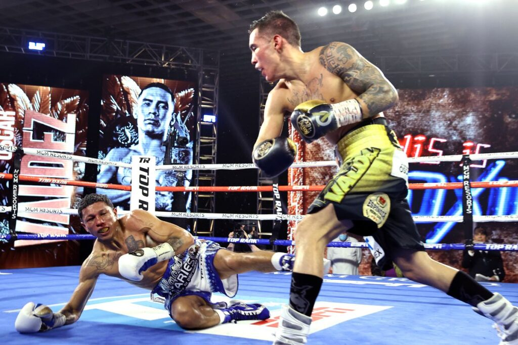 Óscar Valdez derrota a Miguel Berchelt