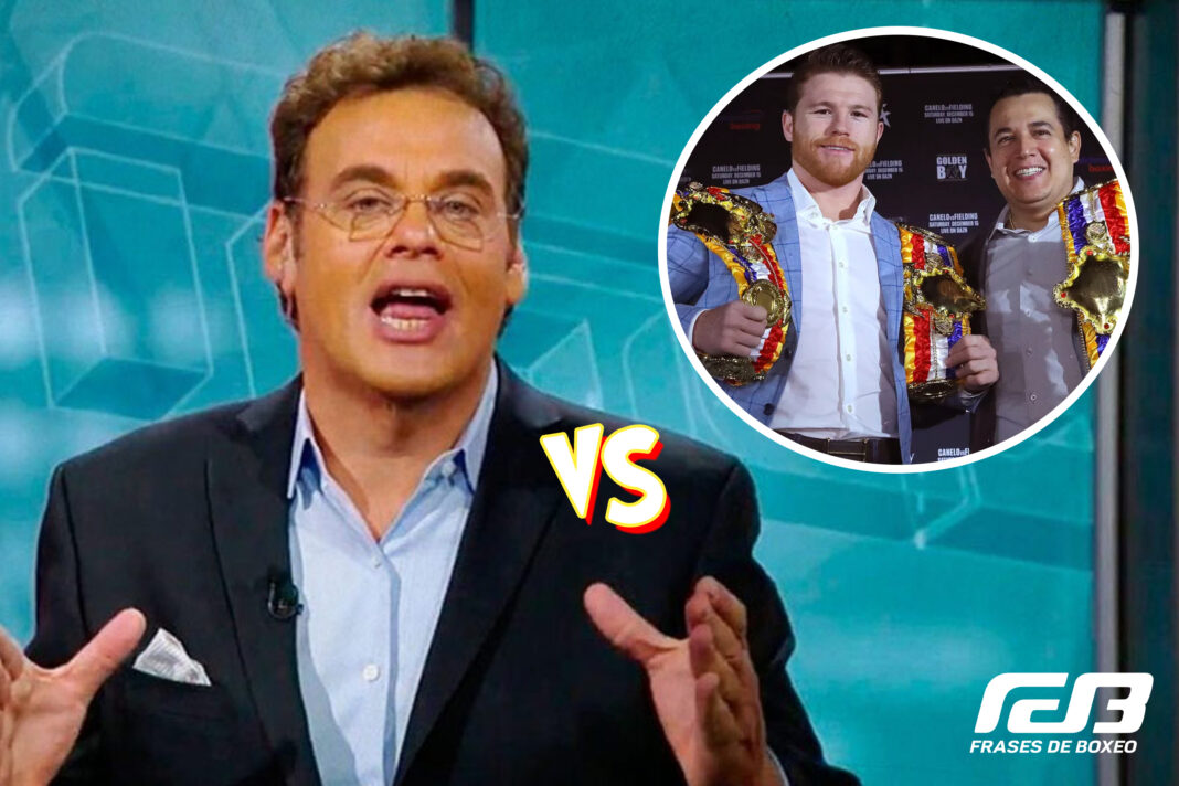 David Faitelson vs Eddy Reynoso y Canelo