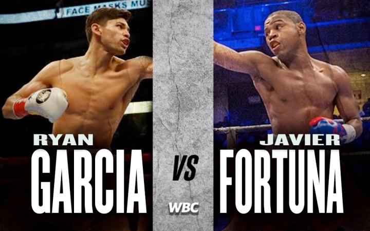 Ryan García y Javir Fortuna habrían llegado a un acuerdo de pelea en donde el 'King Ry' expondrá su título interino ante el dominicano.