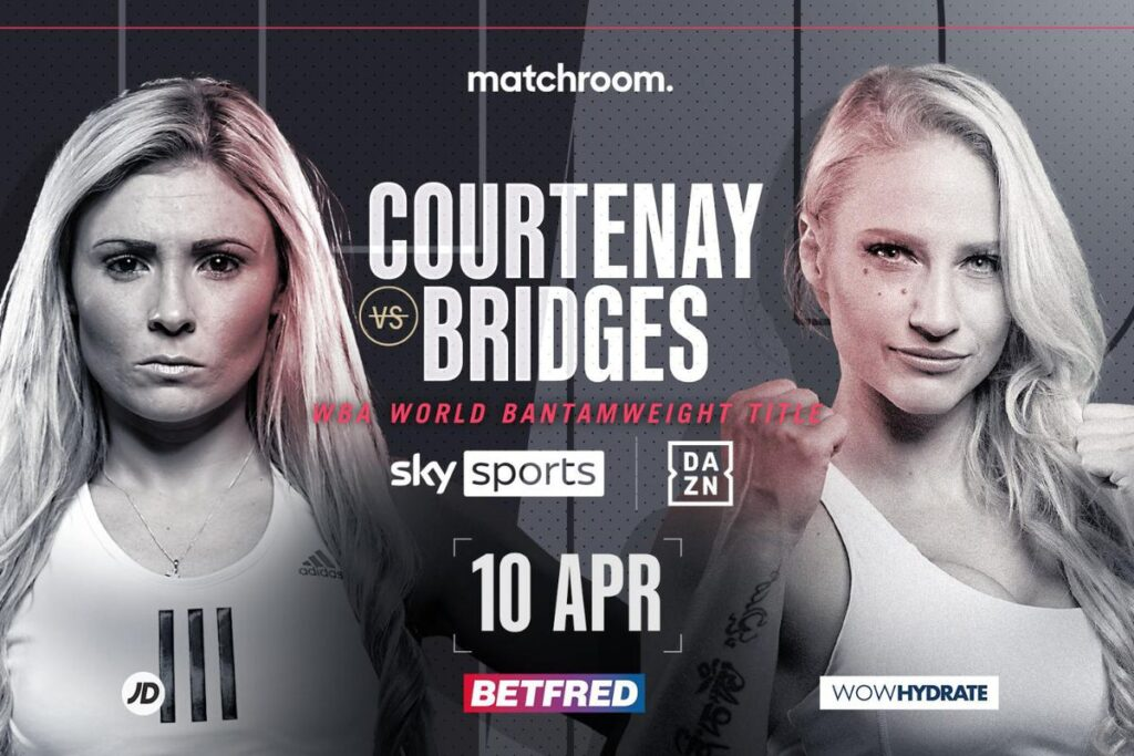 Ebanie Bridges vs Shannon Courtenay