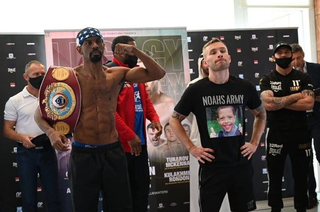 Jamel Herring vs Carl Frampton