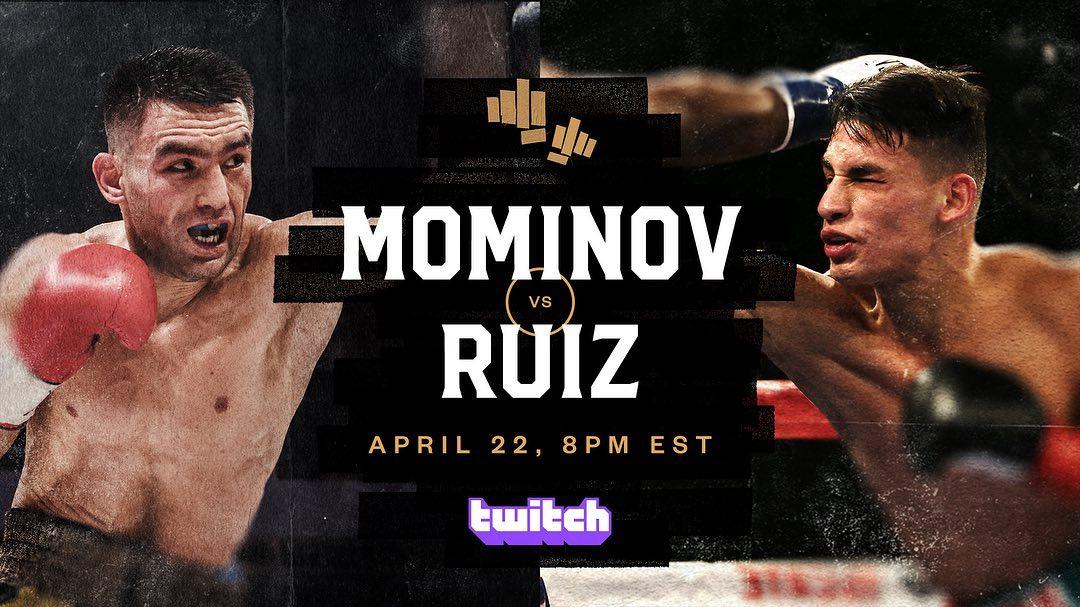 Bobirzhan Mominov vs Ángel Ruiz