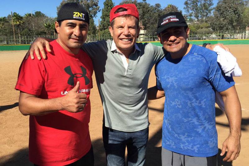 Erik Morales, Julio César Chávez y Marco Antonio Barrera