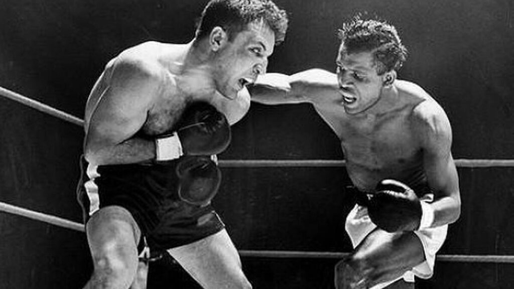 Sugar Ray Robinson vs Jake LaMotta