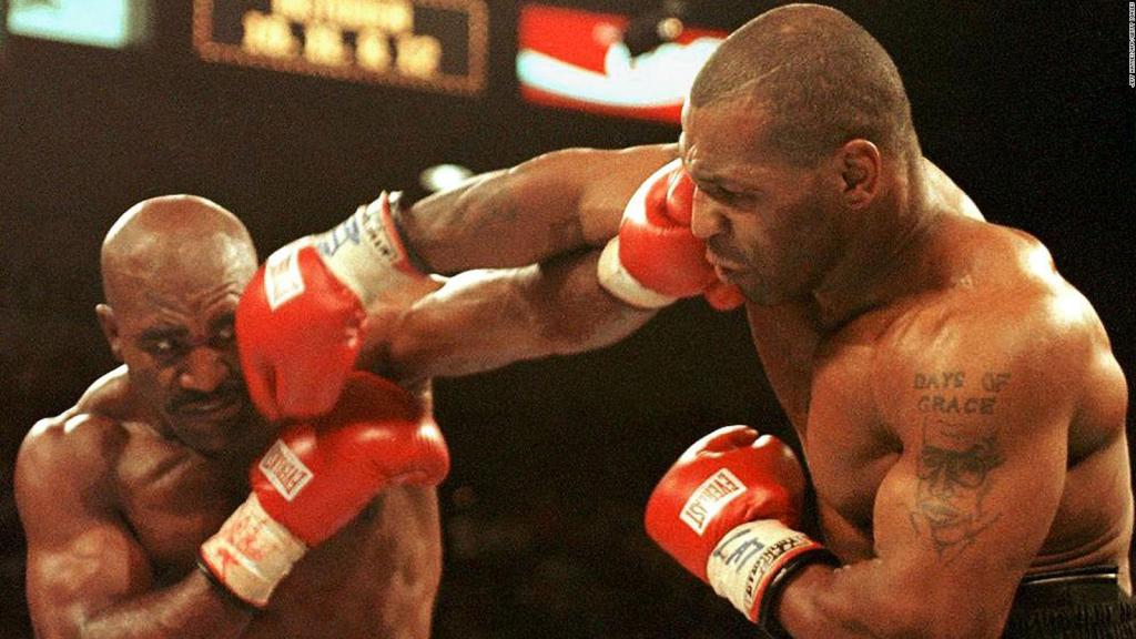 Vida profesional de Mike Tyson