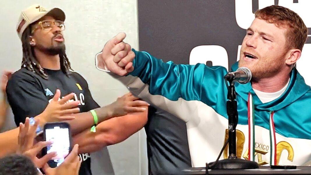Canelo Álvarez sentenció que jamás peleará con Demetrius Andrade, ya que es un peleador horrible y no ha peleado con nadie.