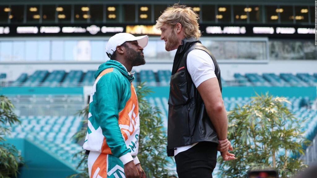 Jake Paul asegura que Floyd Mayweather subestimará a su hermano, Logan Paul.