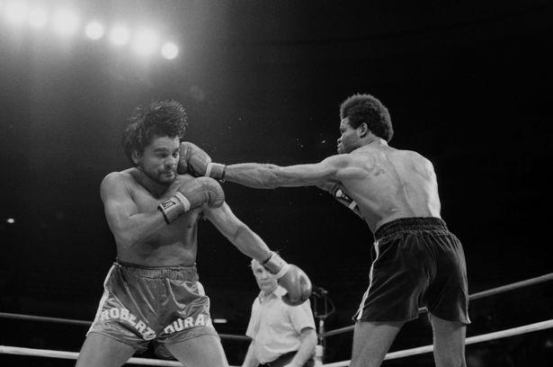 Kirkland Laing vs Roberto Durán