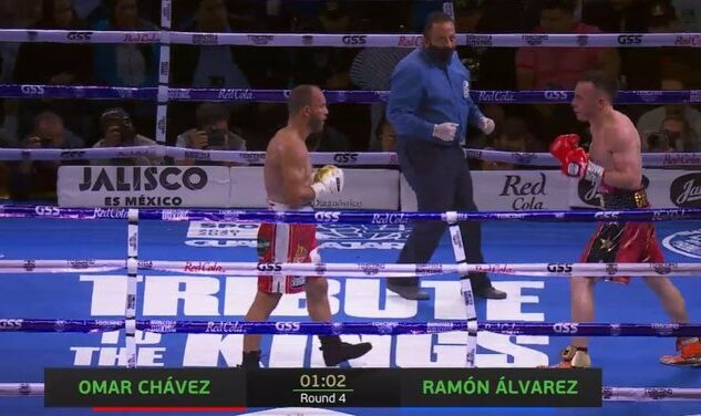 Ramon Alvarez vs Omar Chávez
