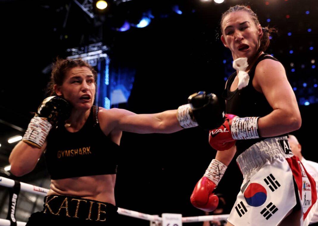 Katie Taylor derrota a Jennifer Han