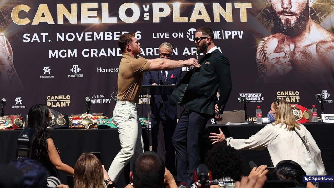Canelo vs Caleb Plant