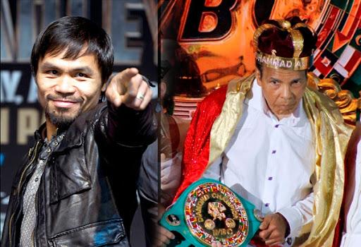 Manny Pacquiao & Muhammad Ali