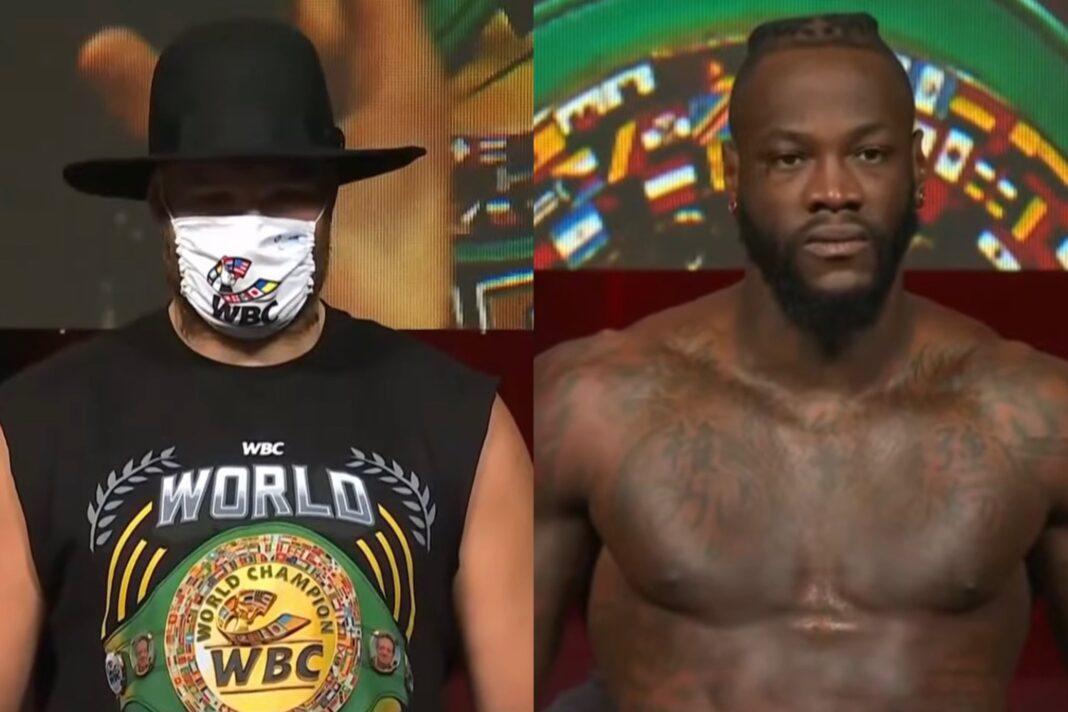 Tyson Fury & Deontay Wilder 2