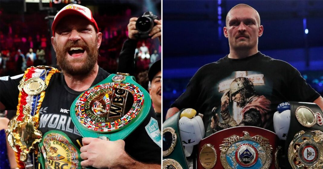 Tyson Fury & Oleksandr Usyk